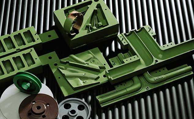 Industrielle Formen mit Beschichtung